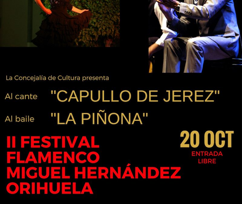 II Festival Flamenco Miguel Hernández