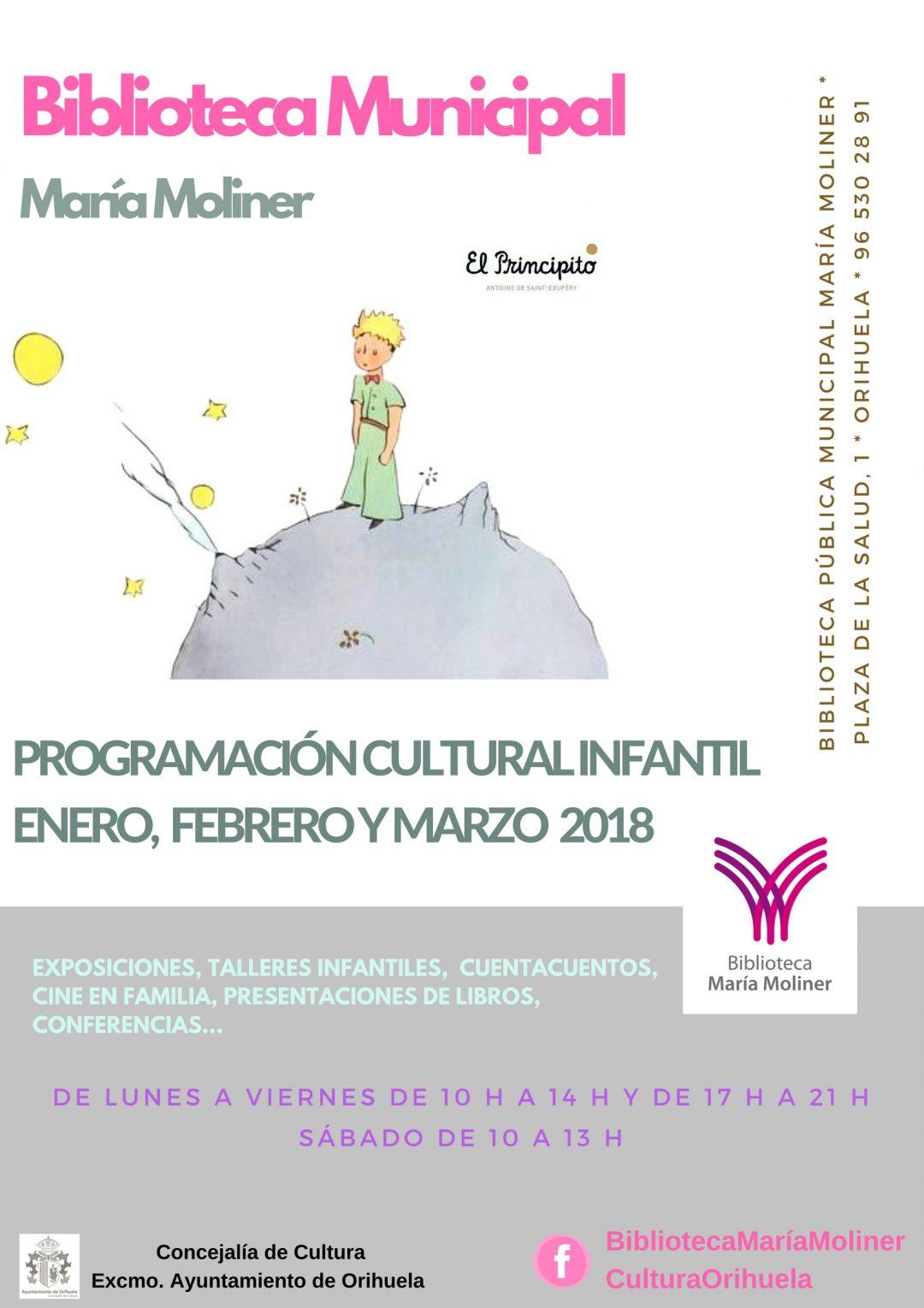 Programación Biblioteca María Moliner