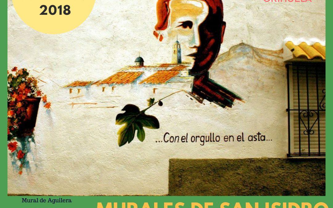 Bases de participación Murales San Isidro de Orihuela 2018