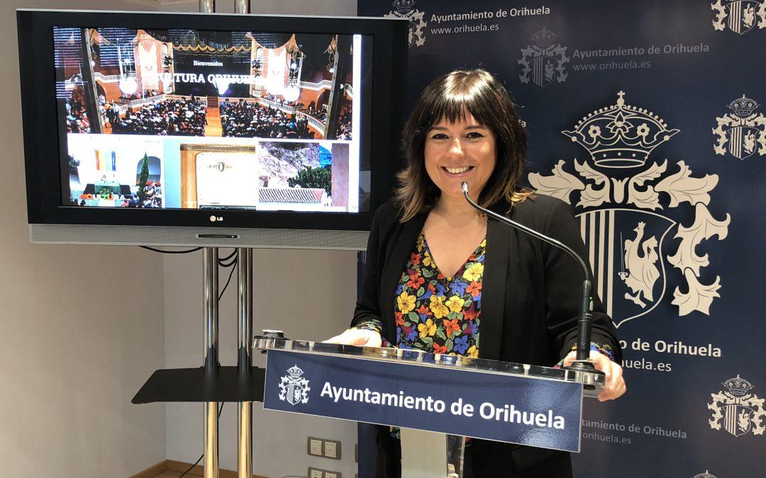 """La nueva web de Cultura ofrende """"de manera sencilla, completa y actualizada"""" toda la programación cultural del municipio"""