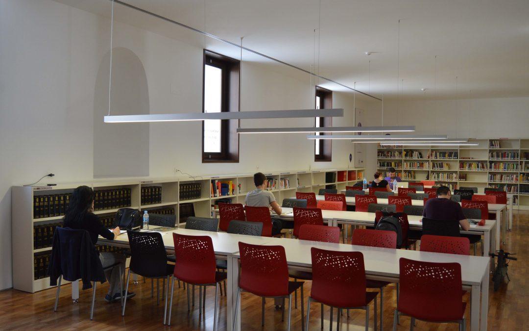 La Biblioteca Pública Municipal María Moliner amplia su horario en fechas de exámenes