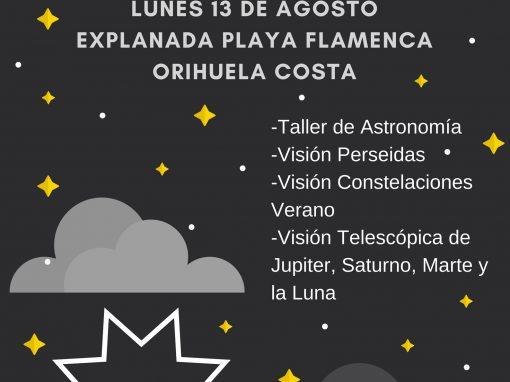 Lluvia de Estrellas en Orihuela Costa