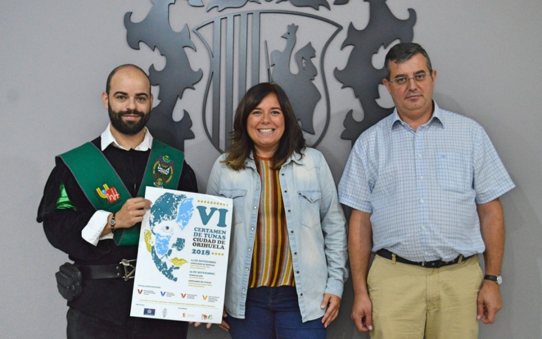 Orihuela se convertirá este fin de semana en la capital de las tunas con la celebración del VI Certamen de Tunas Ciudad de Orihuela