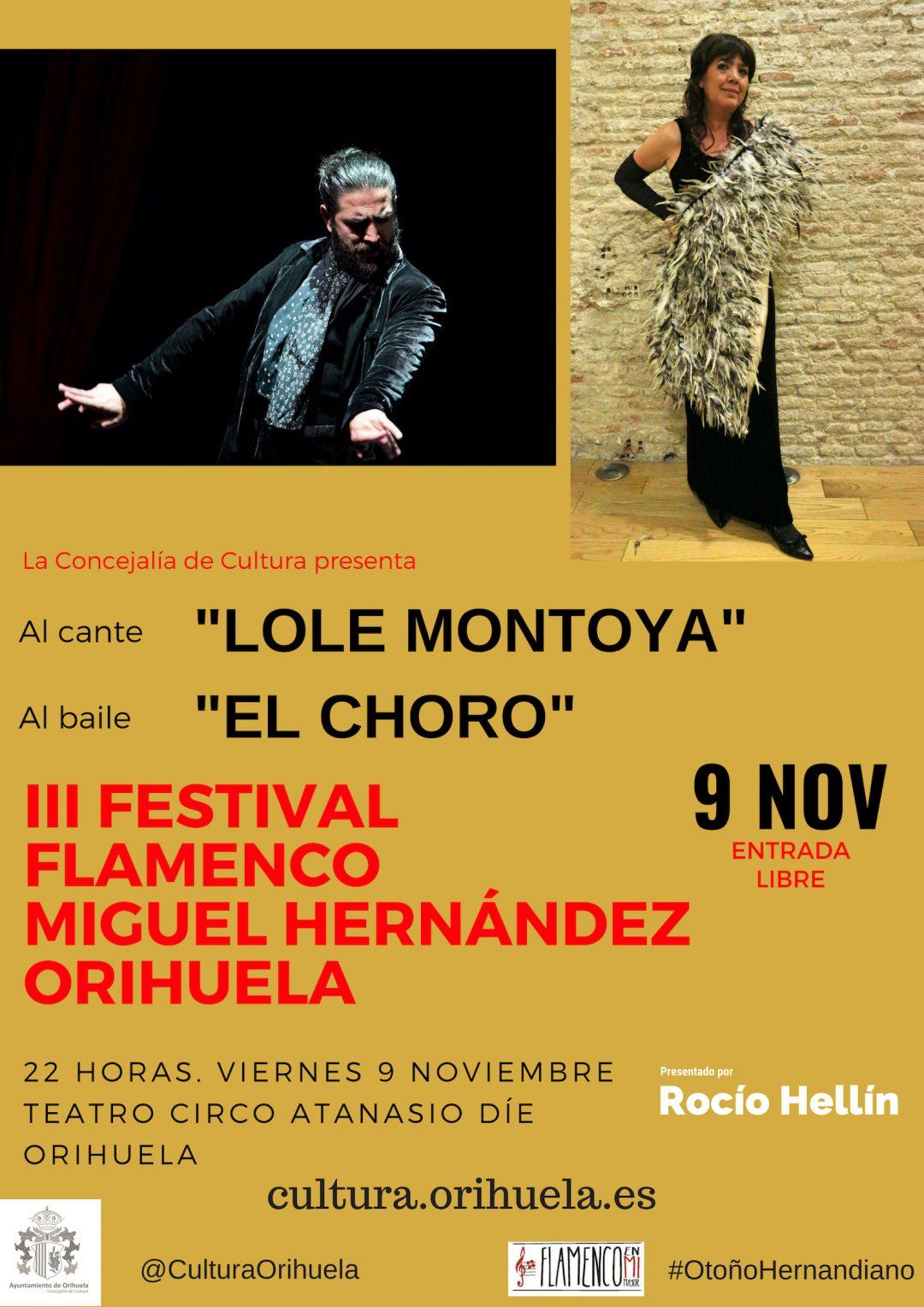 III Festival de Flamenco Miguel Hernández