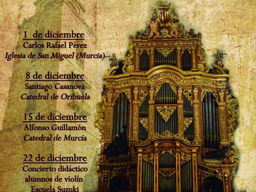 I Ciclo de Conciertos de Órganos Orihuela 2018