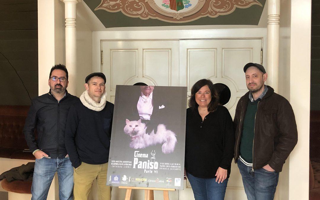 La VI edición de Cinema Paniso  tendrá lugar el 19 de enero en el Teatro Circo 'Atanasio Díe'