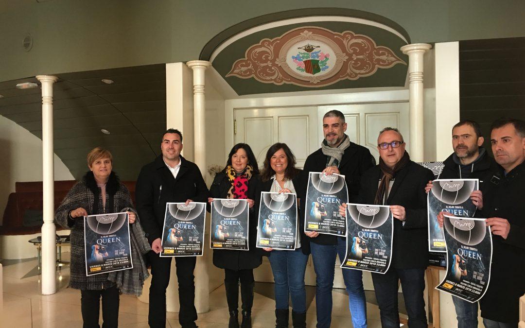 Orihuela celebra el primer acto de la Embajada Mora 2019 con un concierto benéfico de MOMO: Tributo a Queen