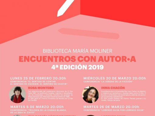 Encuentros con Autor.A 2019