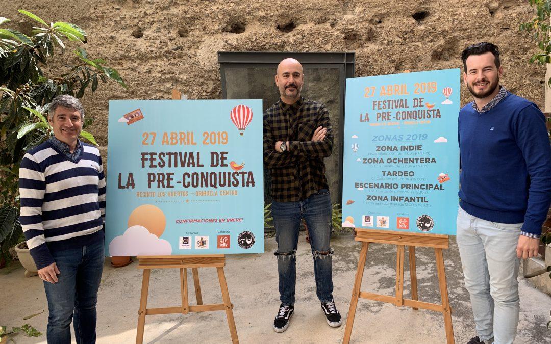 El festival de la Pre-Conquista llenará de música la ciudad de Orihuela el próximo 27 de abril.