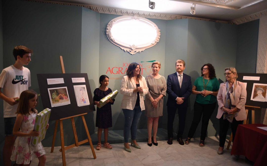 """Entrega de premios del Concurso de Dibujo y Pintura """"Descubrir a Joaquín Agrasot"""""""