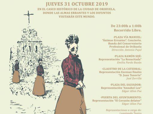 Noche de las Ánimas Orihuela 2019