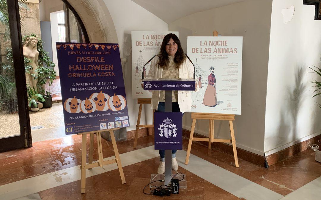 Literatura, música y una especial ambientación en el Casco Histórico de Orihuela protagonizarán la Noche de las Ánimas más fantasmagórica