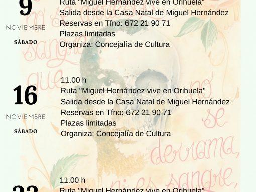Ruta literaria y cultural Orihuela Costa