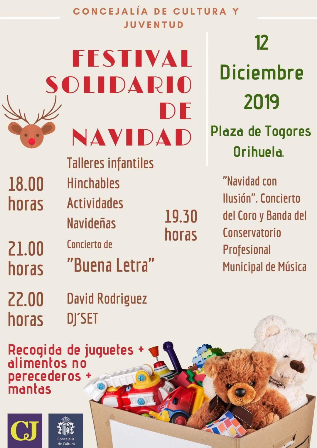 Festival Solidario Navidad Orihuela 2019