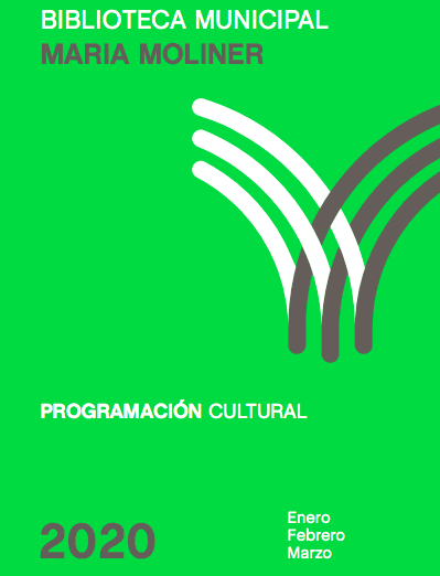 Programación Biblioteca María Moliner 1T 2020